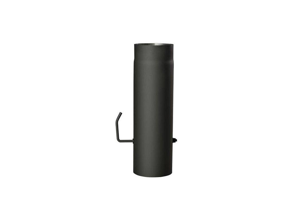 Roura 125mm /100cm/ s klapkou