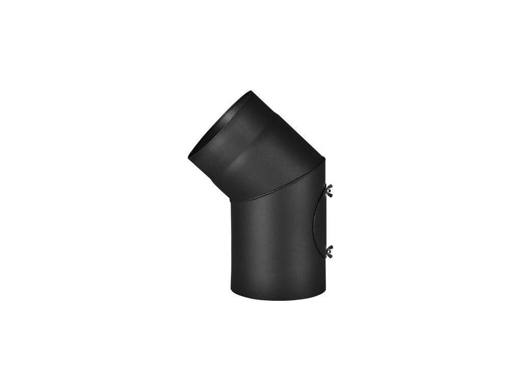 Koleno 45°/120mm/ s čistícím otvorem