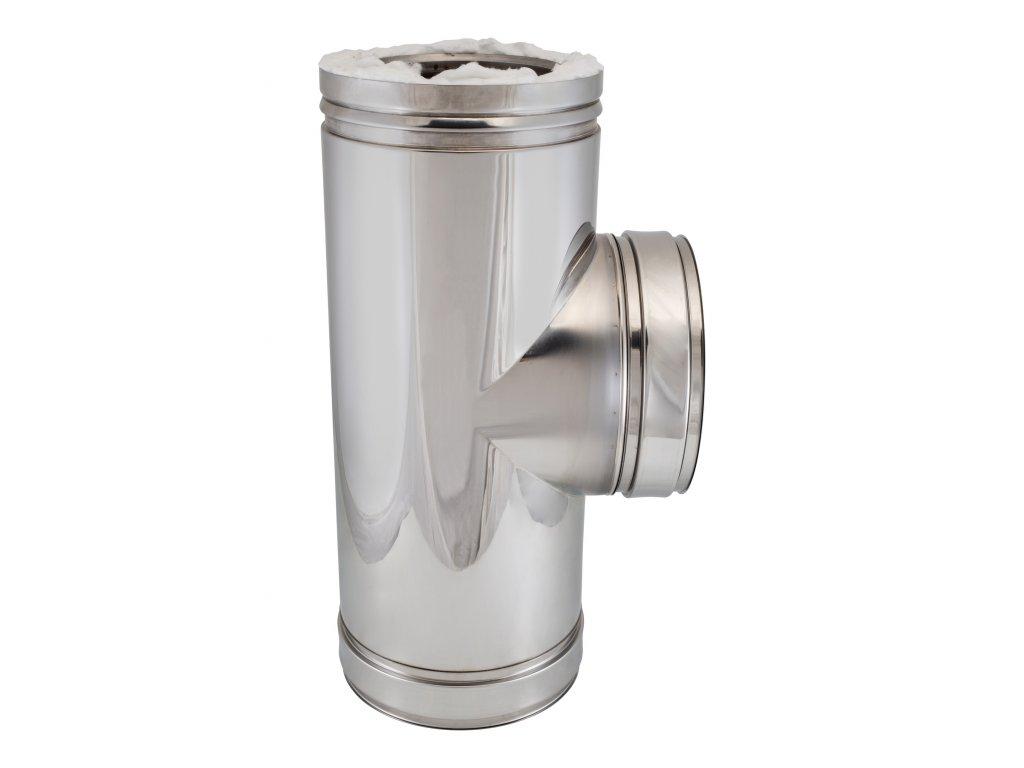 Připojovací díl 90° (Ø130 mm, tl. 0,5 mm)