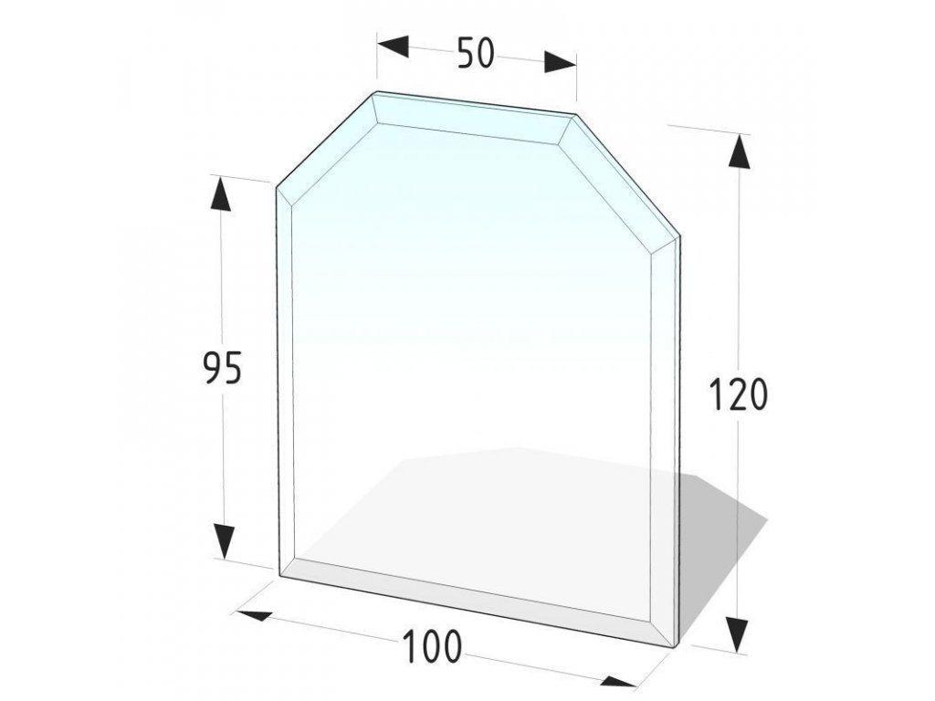podkladove sklo pod kamna dublin