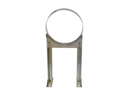 Stěnové připevnění dlouhé L1-340 mm kompl. (Ø150mm)