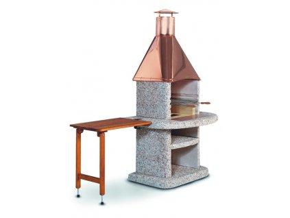 Stolek odkládací dřevěný Komfort hnědý 70 x 45 cm;Stolek odkládací dřevěný Komfort hnědý 70 x 45 cm