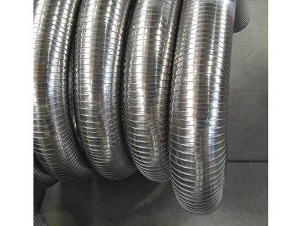 Flexibilní komínová vložka nerez (tl.0,4mm) Ø 150 mm - 1m;Flexibilní komínová vložka nerez (tl.0,4mm) Ø 150 mm - 1m;Flexibilní komínová vložka nerez (tl.0,4mm) Ø 150 mm - 1m
