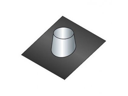 Střešní těsnící příruba 15°-25° (Ø130 mm, tl. 0,8 mm)