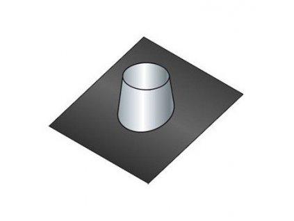 Střešní těsnící příruba 25°-35° (Ø130 mm, tl. 0,8 mm)