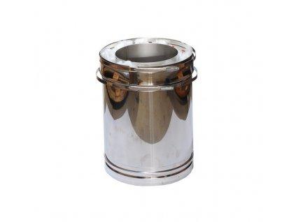 Trubkový díl 0,25 m (Ø130 mm, tl. 0,6 mm)