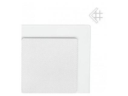 Kratki mřižka bíla (lakovana) 11x24 cm