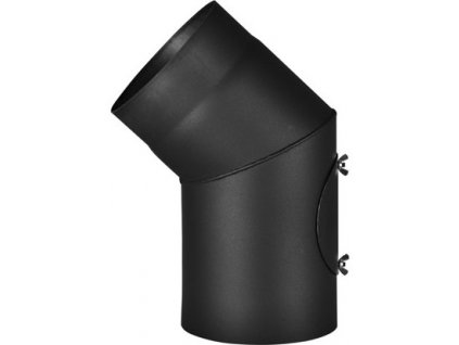 Koleno 45°/130mm/ s čistícím otvorem