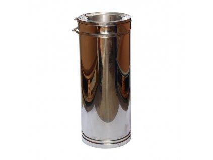 Trubkový díl 0,5 m (Ø150 mm, tl. 0,8 mm)