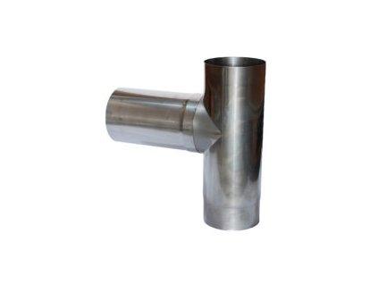 Připojovací díl 90° - T díl (Ø200mm, tl. 0,6 mm)