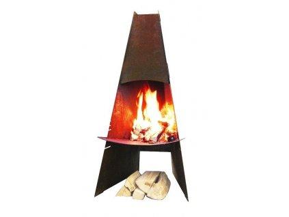 Aduro venkovní krb/gril, nízkolegovaná ocel