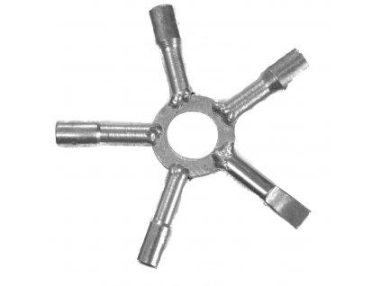 Kominický klíč hvězdicový