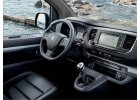 vnitřní výbava Peugeot Traveller