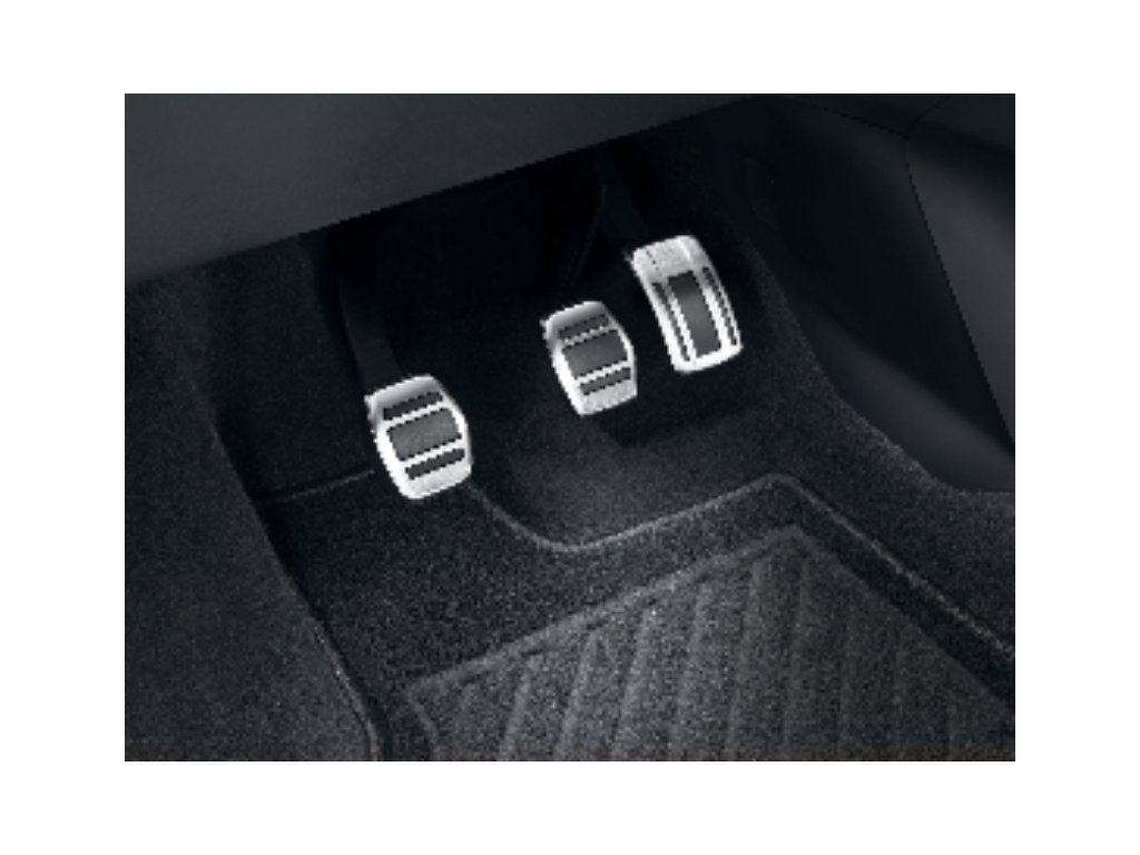 sada hlinikovych pedalu manual 208