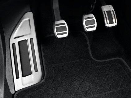 sada hlinikovych pedalu manual 5008 3008