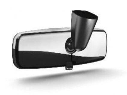 kryt vnitrni zpetne zrcatko chrom