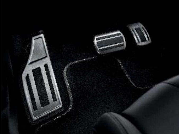 sada hlinikovych pedalu automat 508