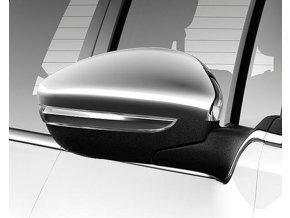 Kryty vnějších zpětných zrcátek chrom Peugeot 208, 2008