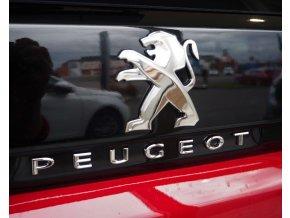 Znak nalepovací logo Peugeot na víko kufru Peugeot 5008