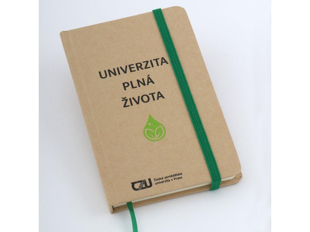 ČZU Zápisník Univerzita plná života