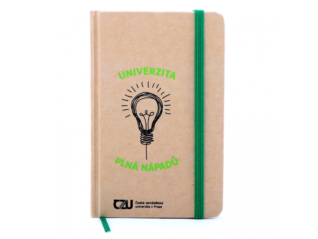 ČZU Zápisník Univerzita plná nápadů