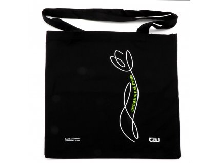 ČZU Bavlněná taška černá