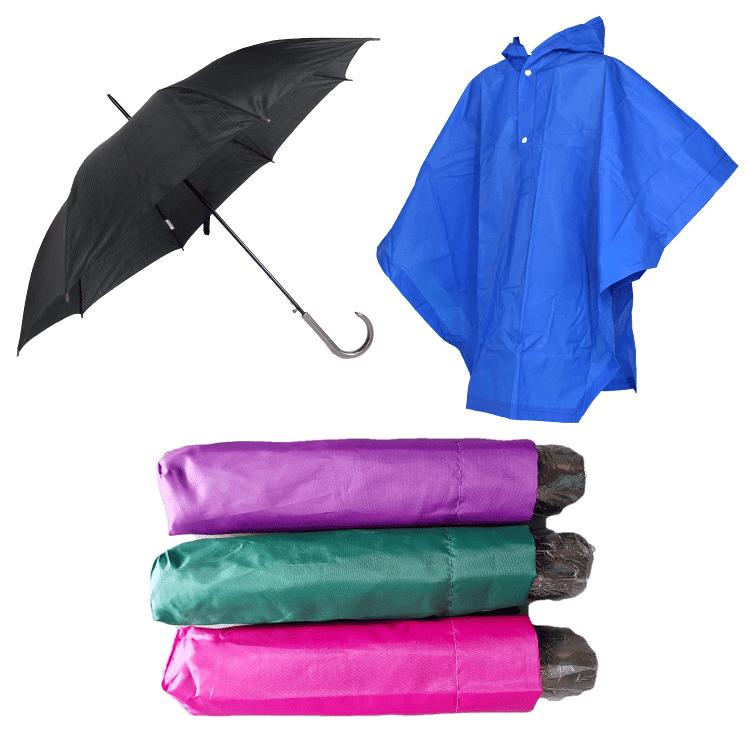 NOVÉ: Dáždniky a pršiplášte