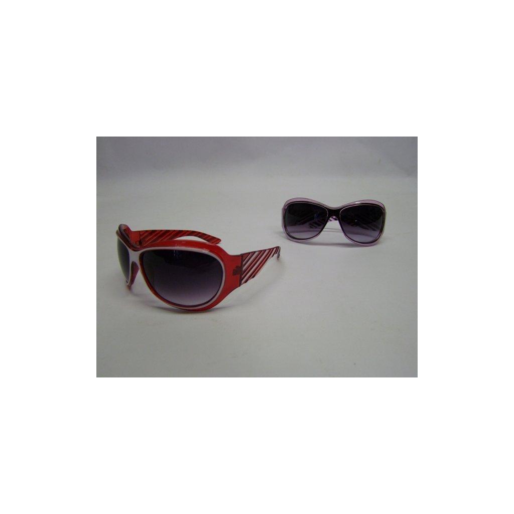 Dámske slnečné okuliare pásy, PoloTrade (Farba Červená, Veľkosť Neurčená)