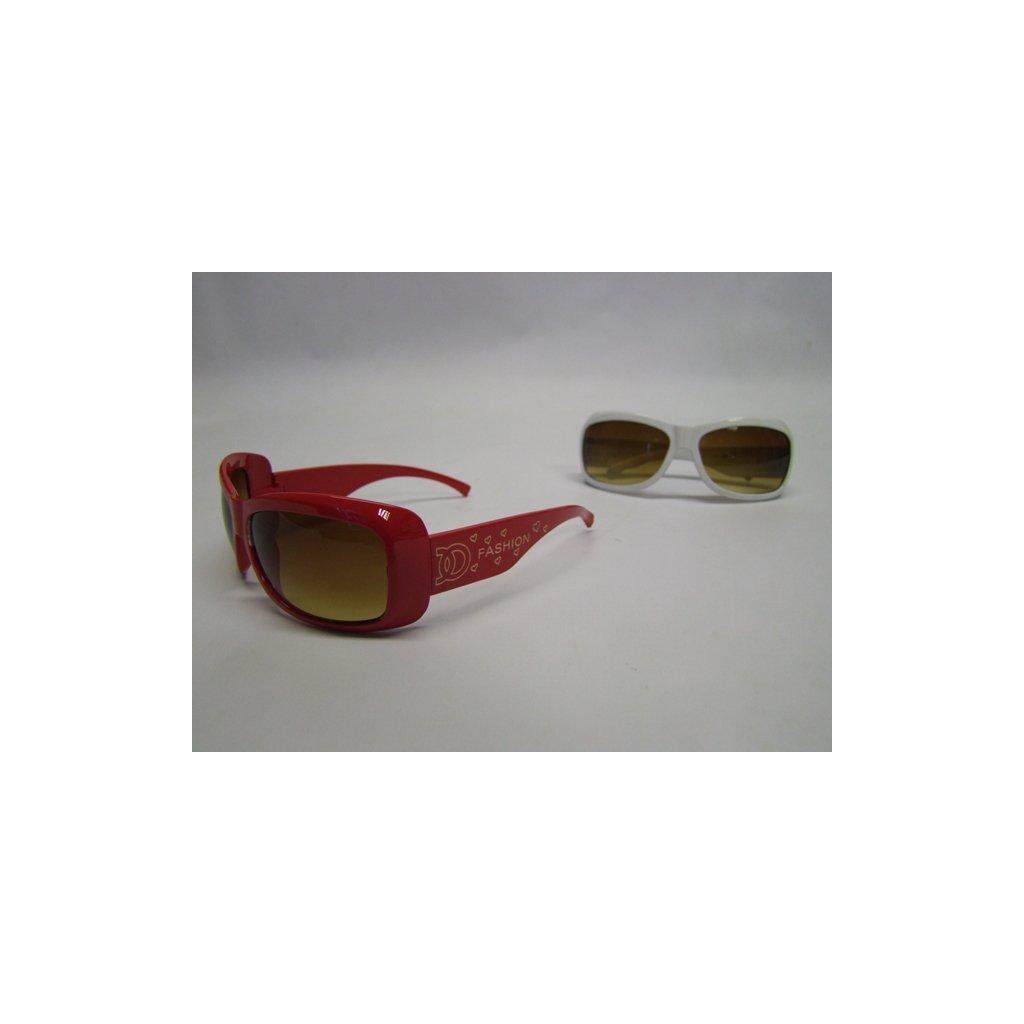 Dámske slnečné okuliare fashion, PoloTrade (Farba Červená, Veľkosť Neurčená)