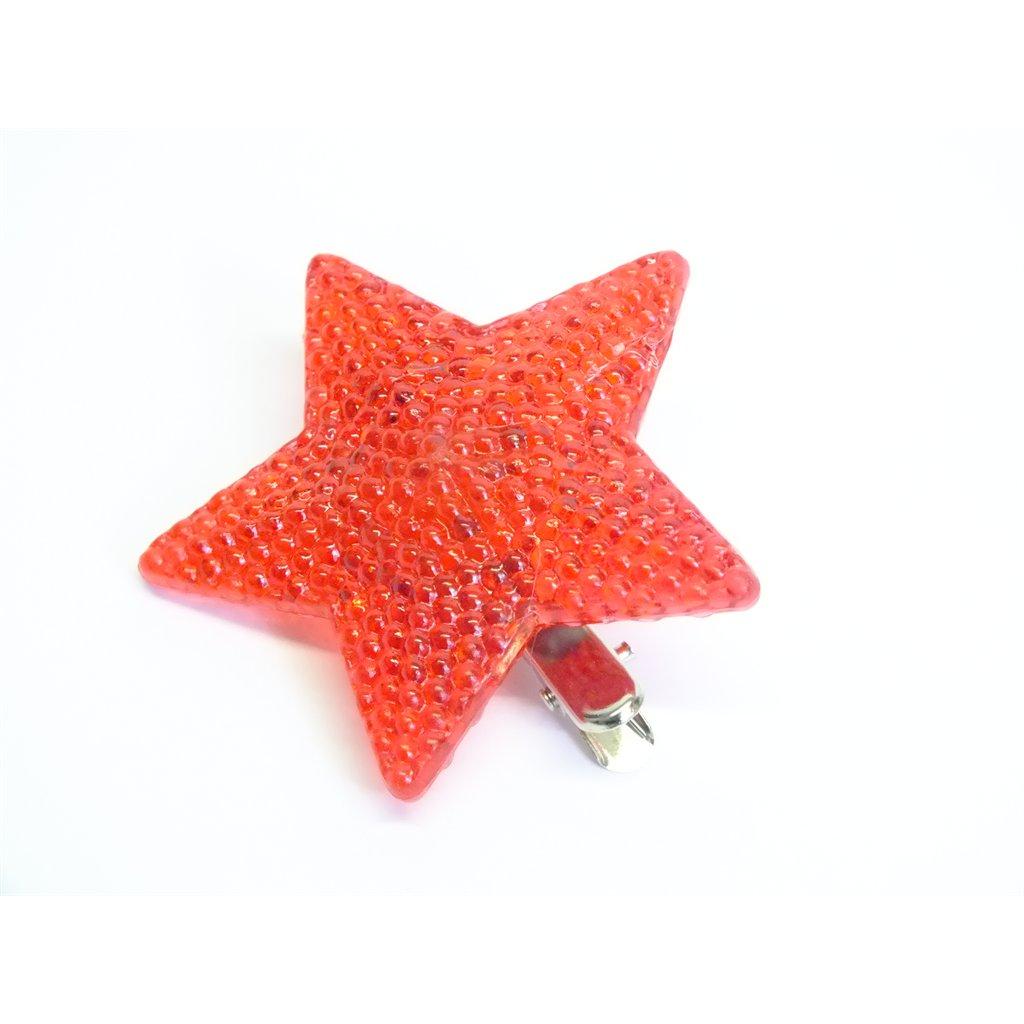 Hviezda, C-4-07184 (Farba Červená, Veľkosť Neurčená)