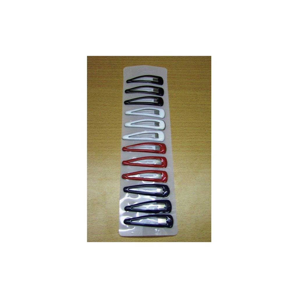 Pukačky farebné 12ks (Farba Čierna, Veľkosť Neurčená)