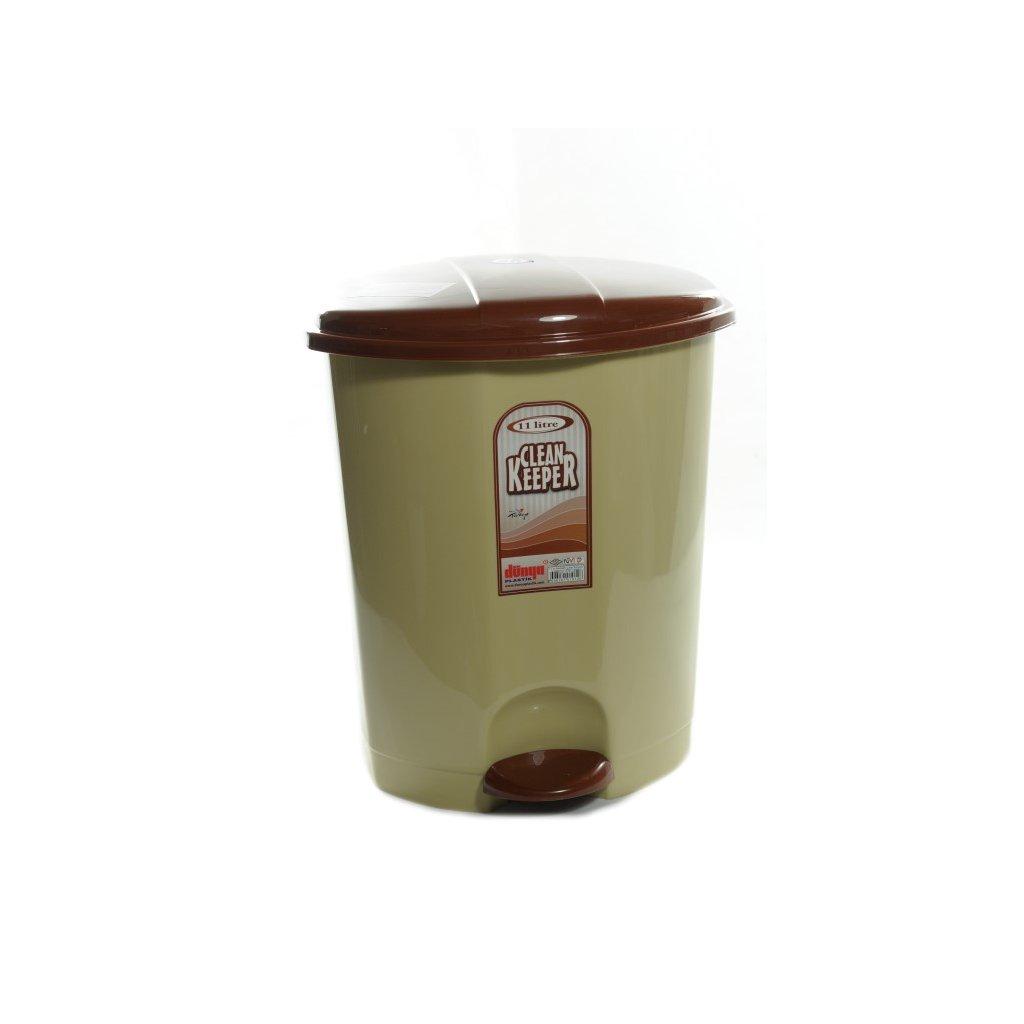 Odpadkový kôš 11L, Dunya (Farba Biela, Veľkosť 11L)