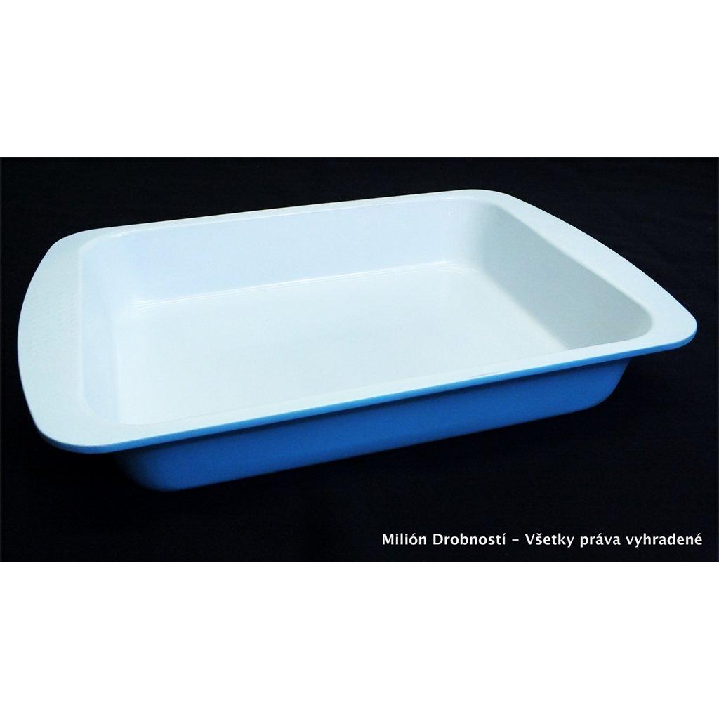 Plech na pečenie 33x23cm (Farba Modrá, Veľkosť Neurčená)