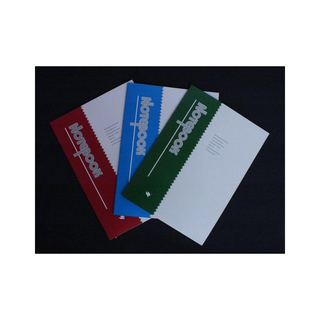 Zošit notebook, C-5-07553 (Farba Modrá, Veľkosť Neurčená)