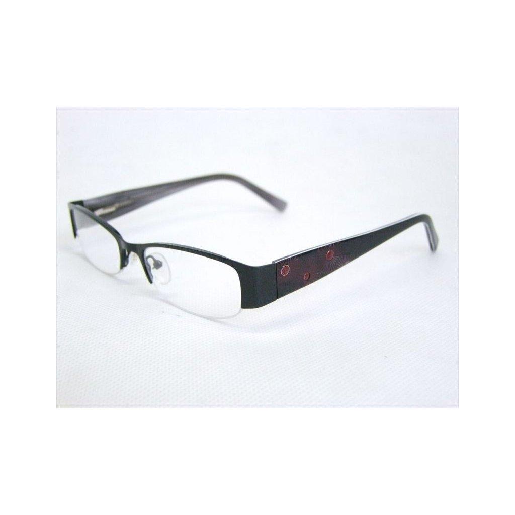 Dioptrické okuliare vzorované, dioptrie 0,5 až 4,0, PoloTrade (Farba Čierna, Veľkosť 0.5)