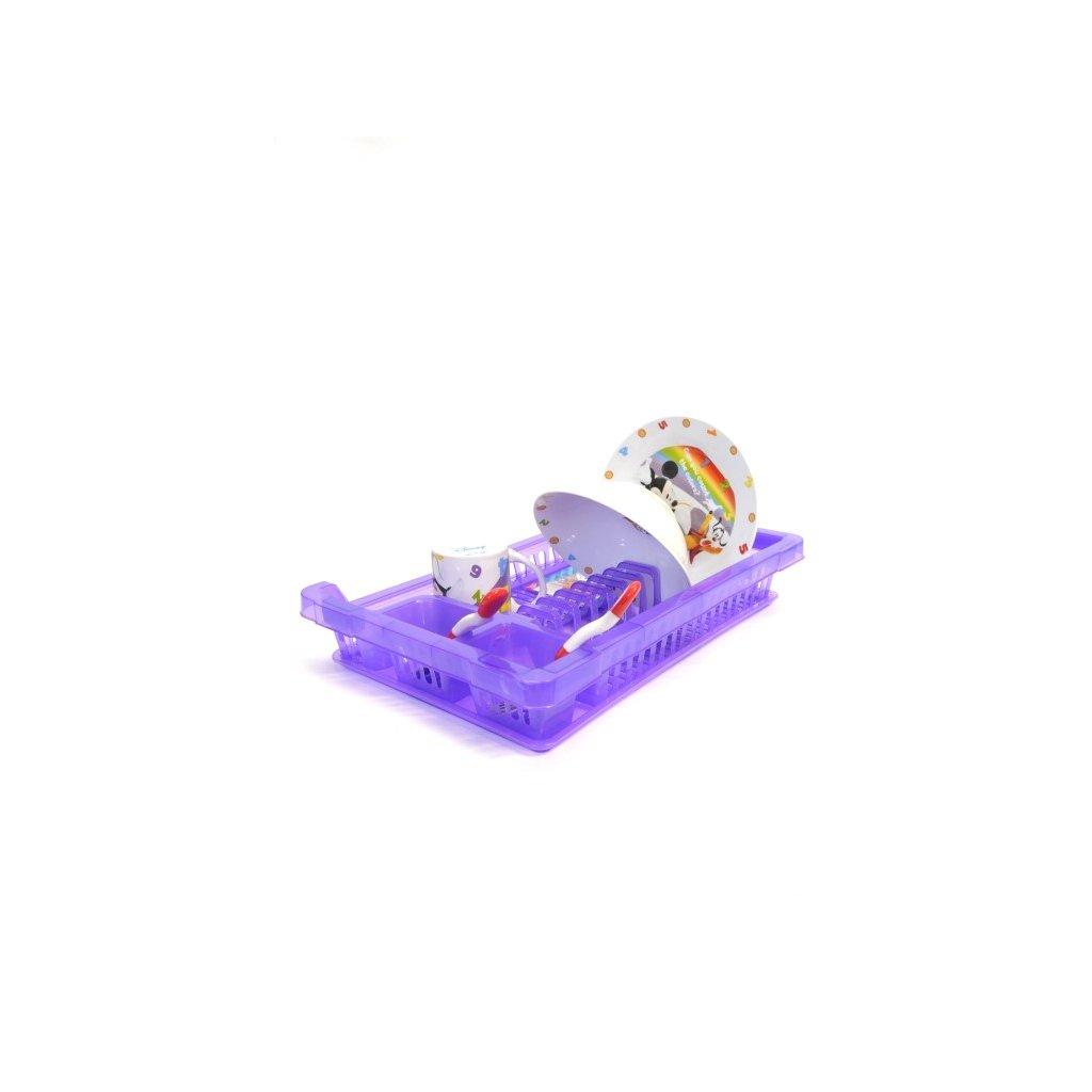 Plastový odkvaplávač - priehľadný (Farba Modrá, Veľkosť Neurčená)
