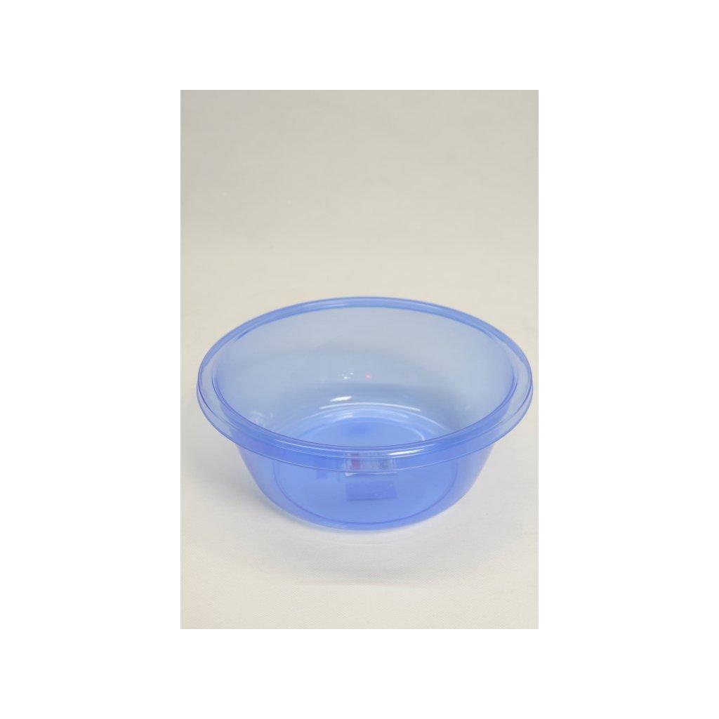 Plastový lavórik 2,7 L priehľadný, Dunya (Farba Tyrkysová, Veľkosť Neurčená)