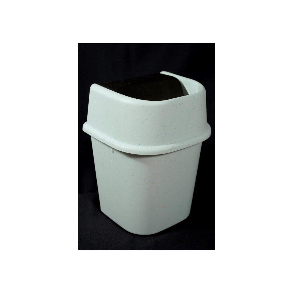 Odpadkový kôš preklápací 22L (Farba Šedá, Veľkosť Neurčená)