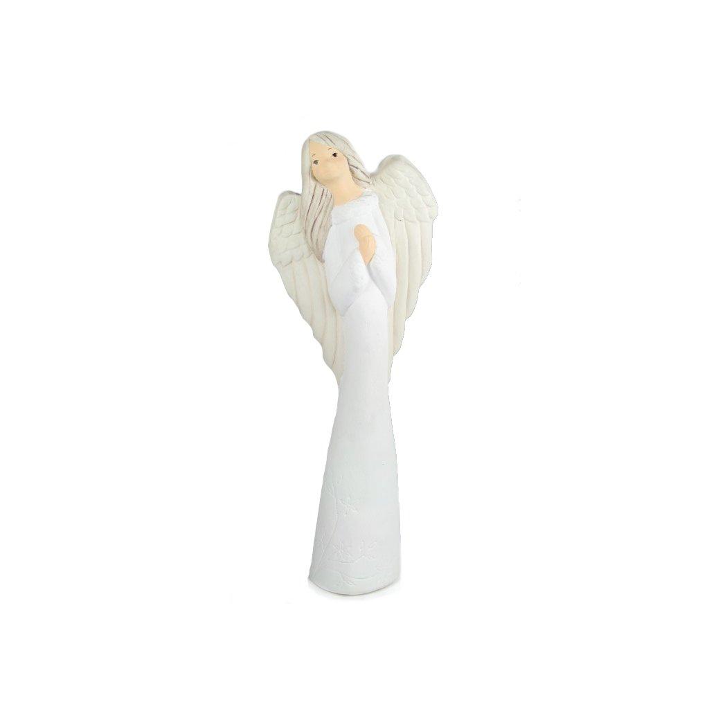 Anjelik Maya (Farba Biela, Veľkosť Neurčená)