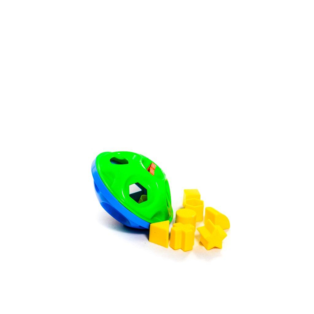 Vkladačka v tvare disku pre deti 20 cm (Farba Multifarebné, Veľkosť 20cm)
