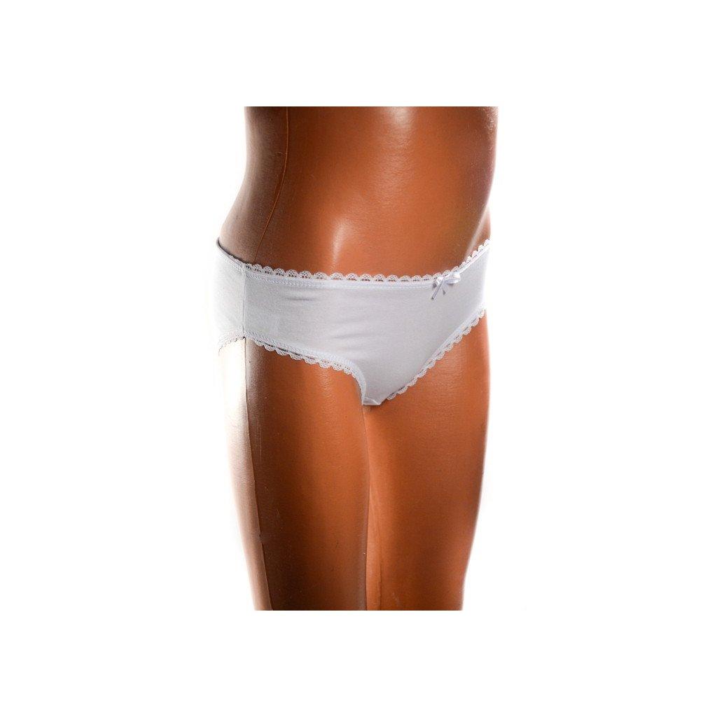 Detské nohavičky - ČIPKA (Farba Biela, Veľkosť 2/3r)