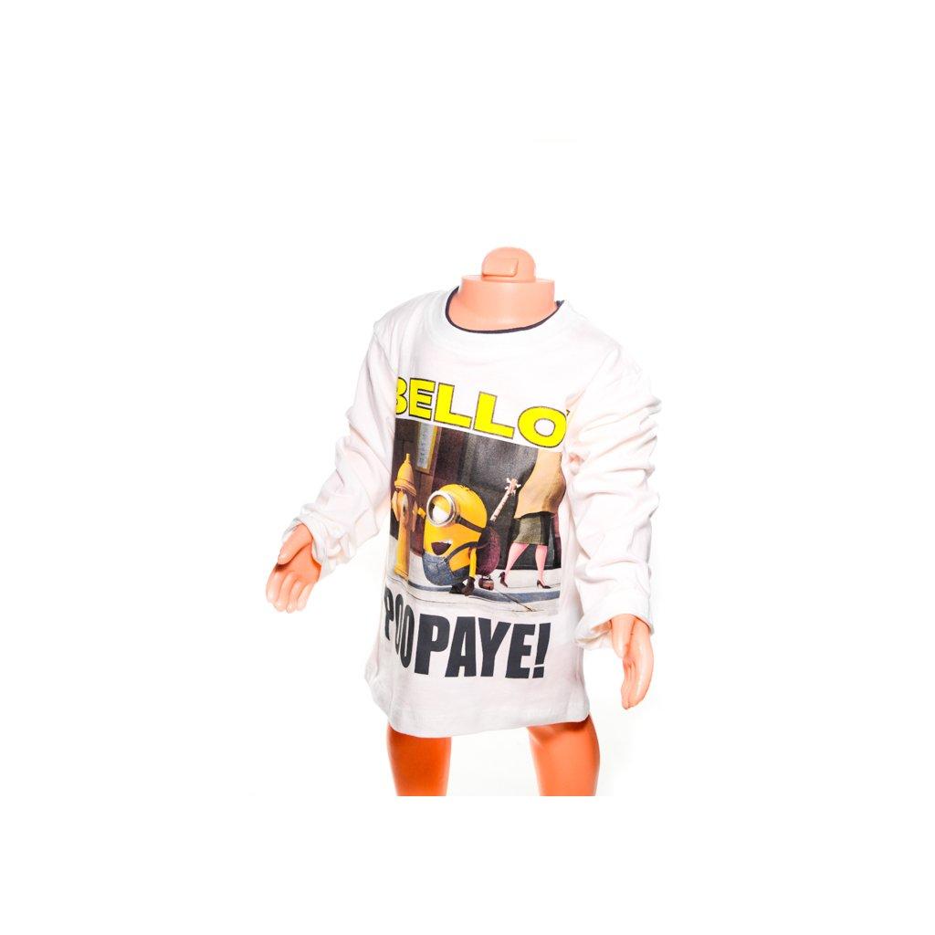 Chlapčenské tričko - Minions. (Farba Biela, Veľkosť 3r)