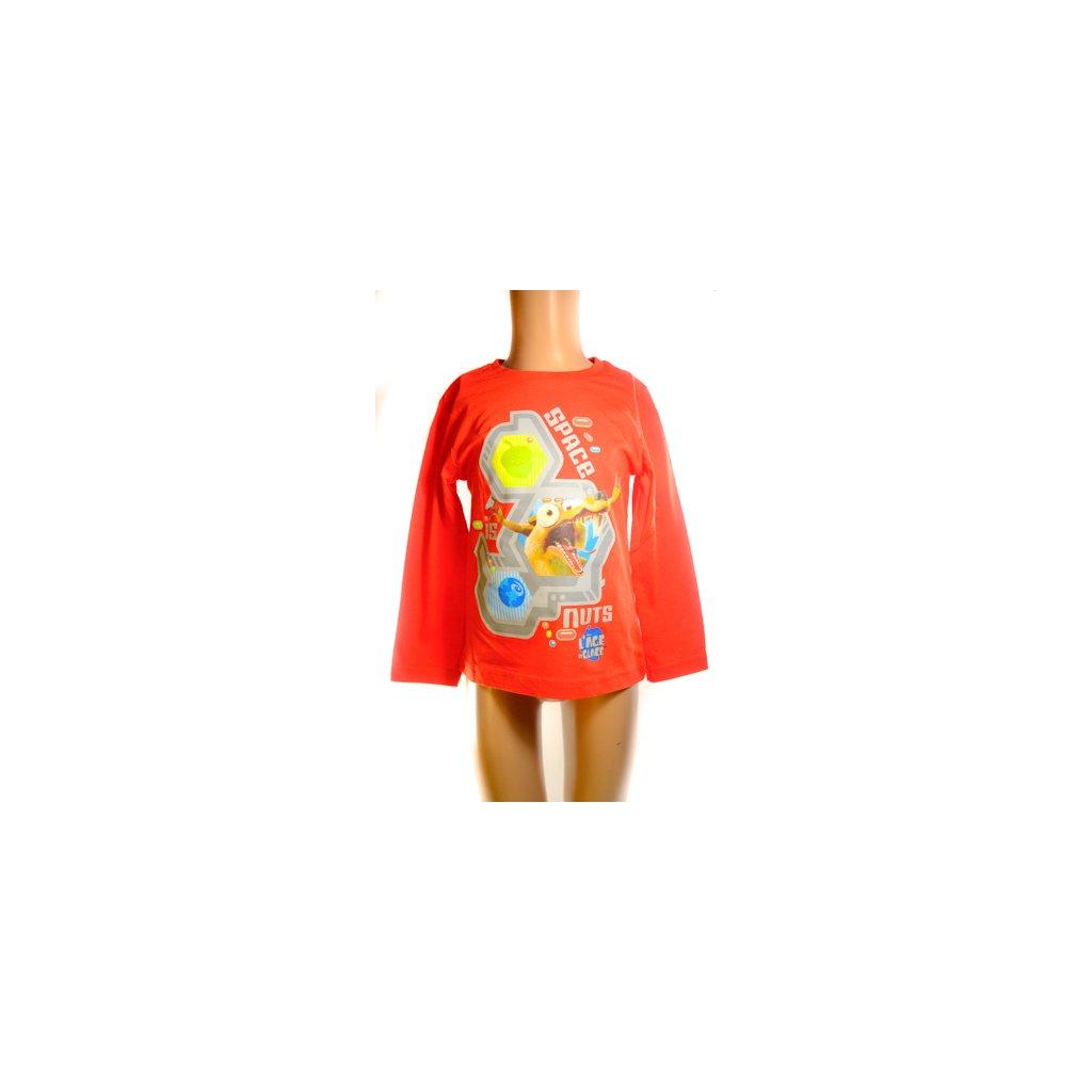 Chlapčenské tričko - DOBA ĽADOVÁ (Farba Šedá, Veľkosť 3r)