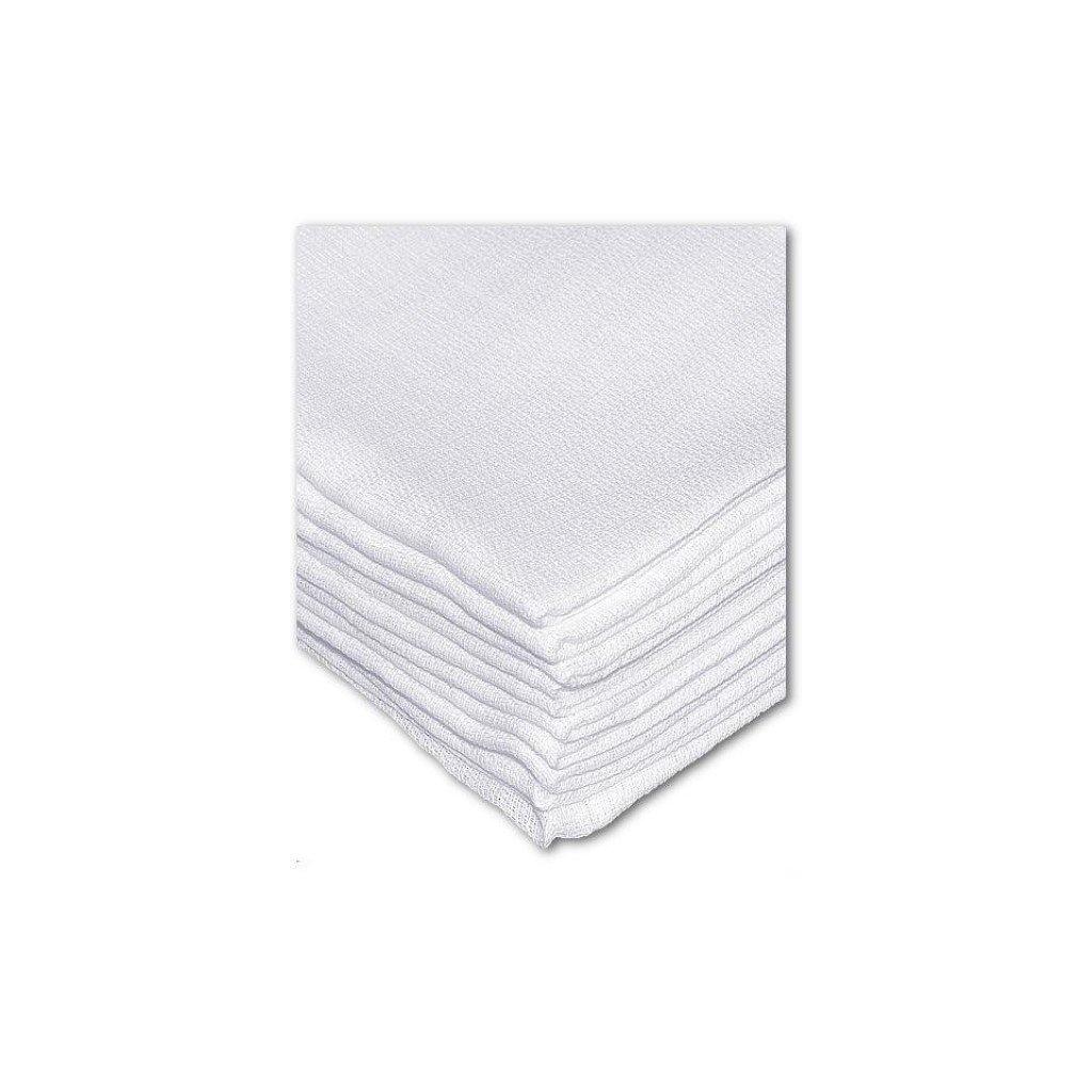 Detská plienka biela 80x70cm, PoloTrade, 20 kusov v balení (Farba Biela, Veľkosť 70x80)