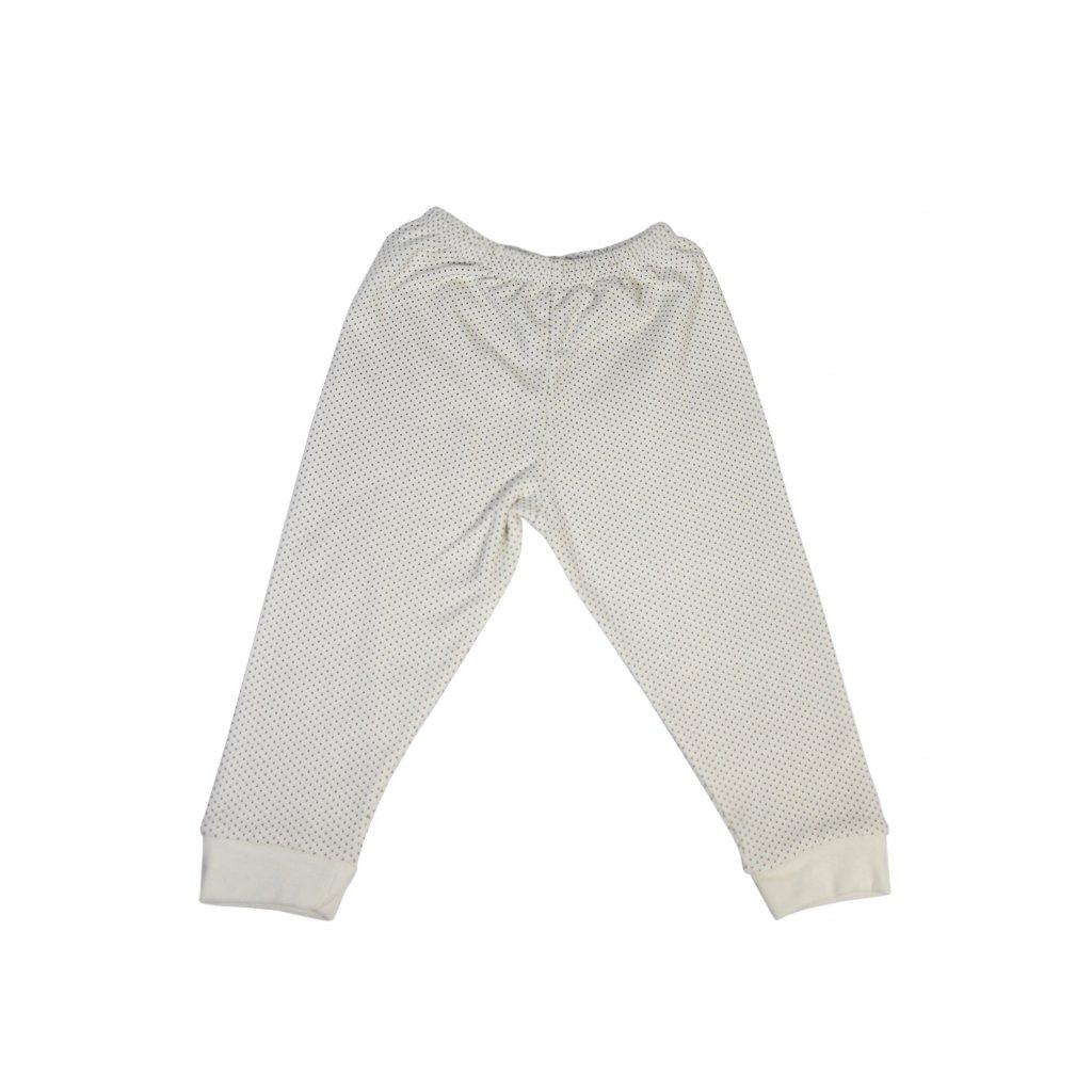 Detské kojenecké nohavice - bodkované, väčšie (Farba Žltá, Veľkosť 15m)
