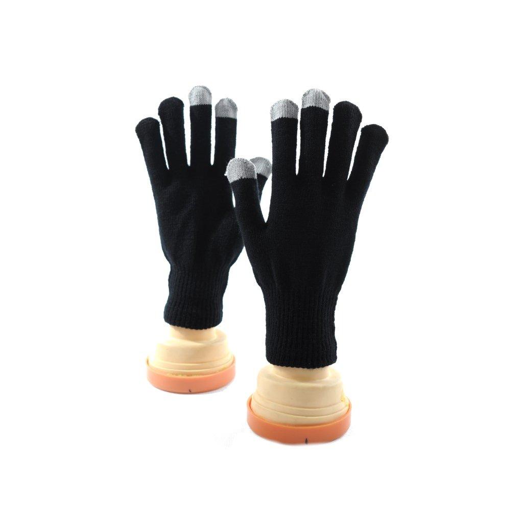 Rukavice - dotykový displej (Farba Čierna, Veľkosť UNI)