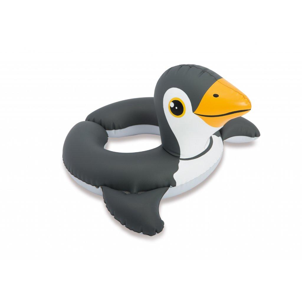 Intex Plávacie koleso tučniak 64*64cm (Farba Čierna, Veľkosť 64x64cm)