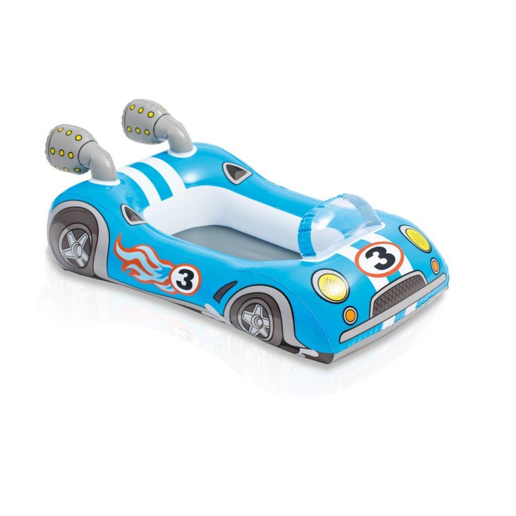 Auto modré 119cm (Farba Modrá, Veľkosť 107x69cm)