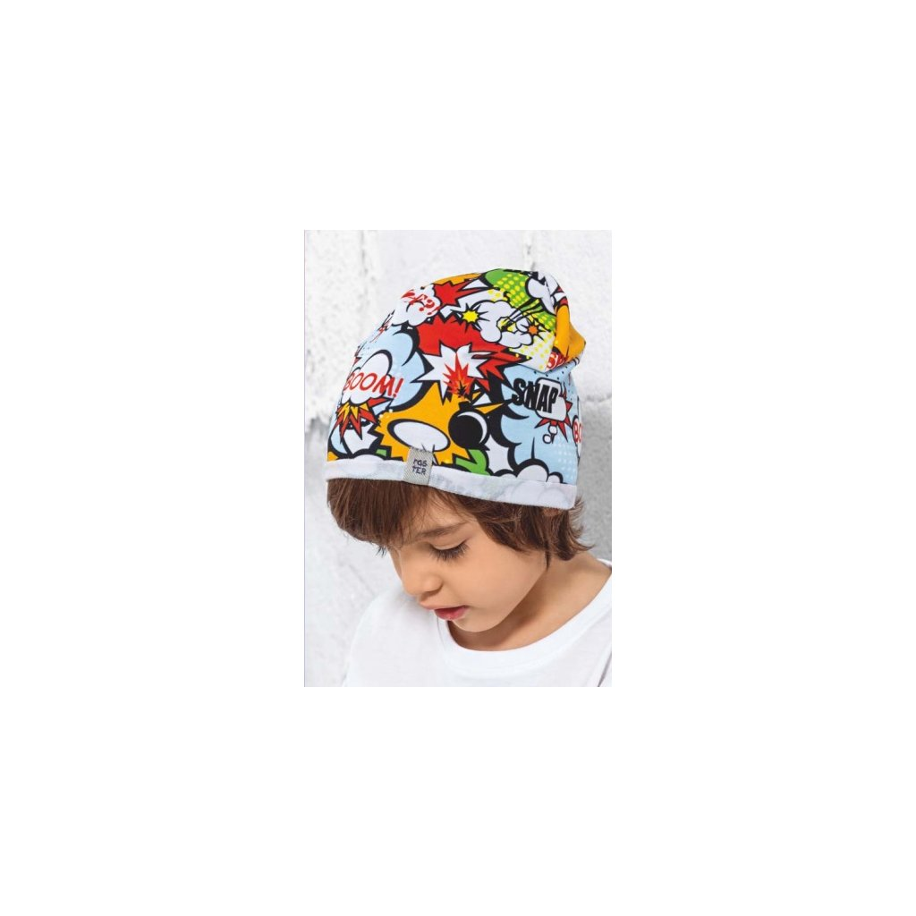 Detská čiapka EXPLOZIA - 18/068 (Farba Multifarebné, Veľkosť 42-44)