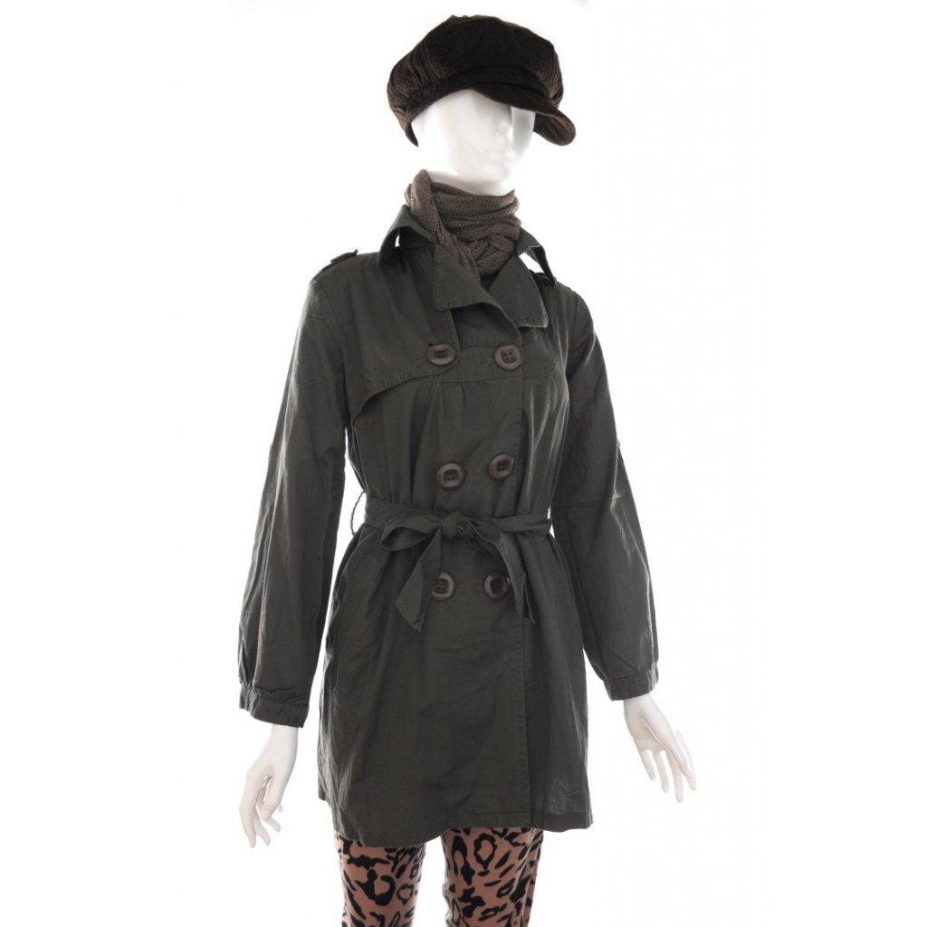 Dámsky prechodný kabátik (Farba Čierna, Veľkosť S)